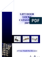 Catalogue EN - Lift Door Locks 01_2007