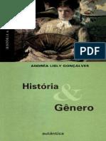 História  Gênero -  Andrea Lisly Goncalves