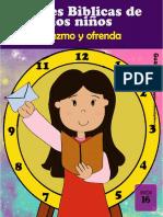 16. DIEZMOS Y OFRENDAS