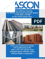 Mascon Construction System - Brochure