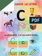 Consonante c (CA Co Cu)