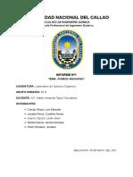 Informe n°1 - Analisis Elemental I