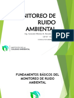 PPT MONITOREO DE RUIDO AMBIENTAL