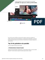 ¿Grabador de pantalla_ 10 apps para vídeos profesionales _ Cinco Noticias