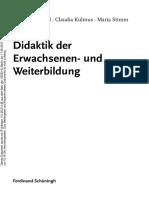 Didaktik Der Erwachsenen- Und Weiterbildung by Aiga Von Hippel, Claudia Kulmus, Maria Stimm (Z-lib.org)