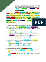 Ejercicios Sobre Categoras Gramaticales