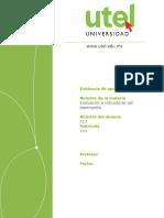 Evaluación e Indicadores Del Desempeño_Primer Parcial_P