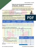 s14-Actividad Del Programa Tv Secundaria - Matemática 2