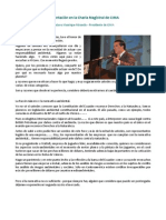 Presentación Charla Magistral - Gustavo Manrique Miranda