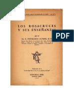 Los Rosacruces y Sus Ensenanzas