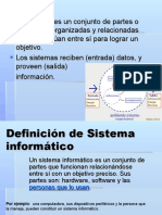 Definición de Sistema informático