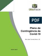 Plano de Contigência Da Covid-19 Da Obra Assaí Tancredo Neves -Sp