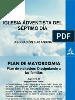 VISITACIÓN DE MAYORDOMIA - ANCIANOS
