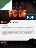HORA DA VERDADE PCDF PROCESSO