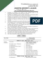 T.E. Exam May-2011