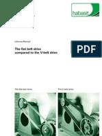 flat vs v belt