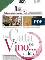4º Premio Vila Viniteca de Cata por Parejas. Apariciones en la prensa