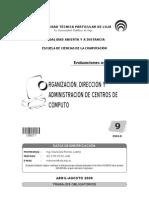 Organizacion, administracion  y direccion de centros de computo