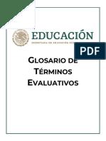 Glosario Terminos Evaluativos DGADAE