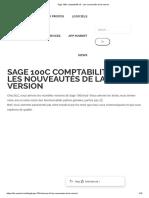 Sage 100c comptabilité v5 - Les nouveautés de la version
