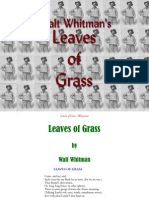 Leaves of Grass - Whitman Walt