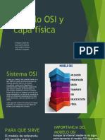 Modelo OSI y capa física