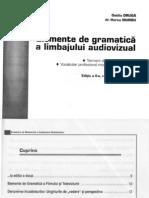 Elemente de Gramatica a Limbajului Audiovizual - Ovidiu Druga- Dr Horea Murgu