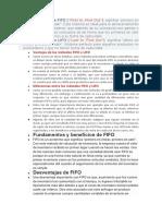 Definición de FIFO