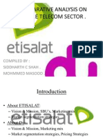 etisilat and du eco project