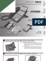 End User Guide for NEC DLV(XD)
