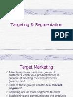 Targeting & Segmentation