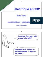 Voiture Electrique et CO2