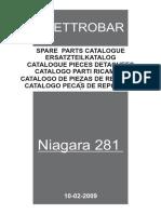 niagara 281 деталировка