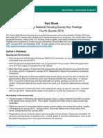 Housing Survey Fact Sheet q42010