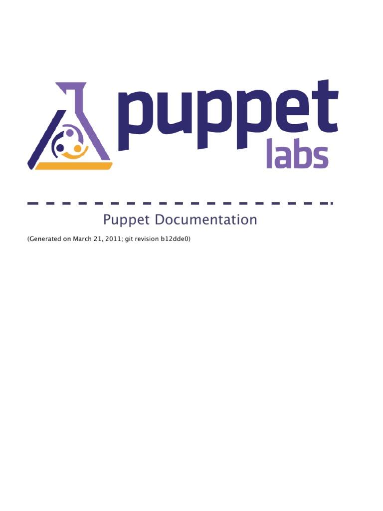 puppet   Application Programming Interface   Virtual Machine