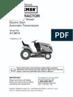 Craftsman Tractor Manual