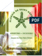 Florais de Saint Germain - Repertório-Dicionário 2011