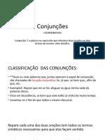 Conjunções Coordenativas