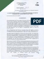 Resoluciones 019 Del 04 de Marzo de 2021 Reintegro Recursos Fnd