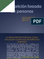 DESAPARICIÓN FORZADA - DR. DANIEL RODRIGUEZ