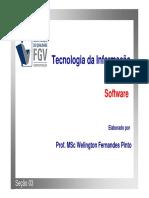 Tecnologia da Informação - 1 2016 - Seção 3