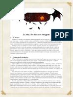 LORE de the Last Dragon