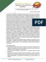 Presentación propuesta ajuste marzo 2021-2 FTUV