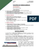 CLASIFICACIÓN DE FERROCARRILES RESUMEN I