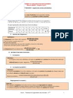 COURS 3° - Statistiques - 2020 - 2021