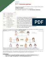 TP 9 localisation du programme génétique