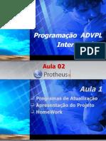 Treinamento_ADVPL_Intermediário_aula 02