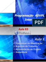 Treinamento_ADVPL_Intermediário_aula 03