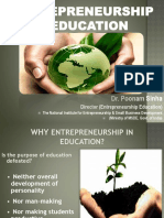 Entrepreneurship edu