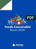 Fondo Concursable 2020